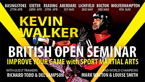 Kevin Walker WKU England Kickboxing Training Seminar